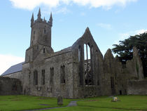 Ennis Friary Ruins County Clare Ireland 14 von GEORGE ELLIS