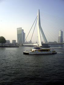 Erasmus bridge, Rotterdam Netherlands 02 von GEORGE ELLIS