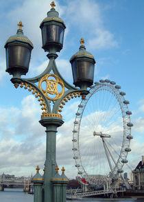 London Eye London England von GEORGE ELLIS
