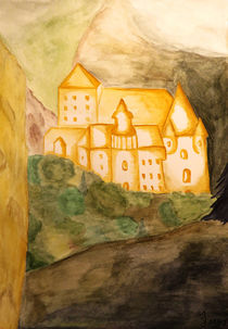 Goldschloss von Julia Scharf