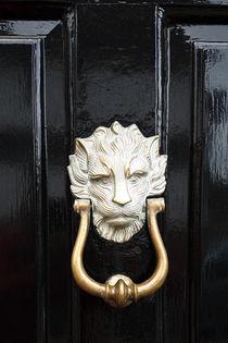 Door Knocker Lavenham Suffolk England von GEORGE ELLIS