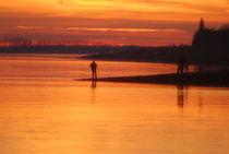 Sonnenunergang an der Nordsee by Rolf Müller