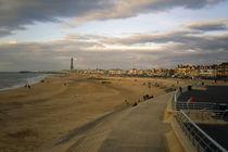 Blackpool Beach Lancashire England 07 von GEORGE ELLIS