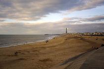 Blackpool Beach Lancashire England 08 von GEORGE ELLIS
