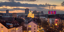 Roofs of Hannover von Michael Abid