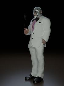 The Wrestler by Richard Rabassa