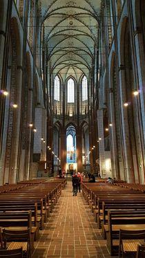 St. Marien Kirche Lübeck Mittelschiff von alsterimages