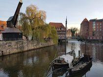 Holzkran Lüneburg von alsterimages