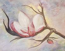 Magnolia Bloom von eloiseart