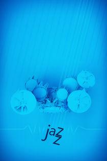 Jazz Blue Accent by cinema4design