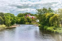 The River Derwent At Cockermouth von Ian Lewis