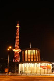 Messe Berlin und Funkturm bei Nacht von alsterimages