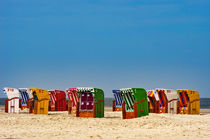 Bunte Strandkörbe von AD DESIGN Photo + PhotoArt