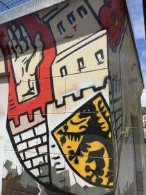 Altenburg Wappen Graffiti von alsterimages