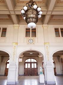 Bahnhof Altenburg Vorhalle von alsterimages