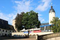 Schloss Altenburg Hausmannsturm und Flasche von alsterimages