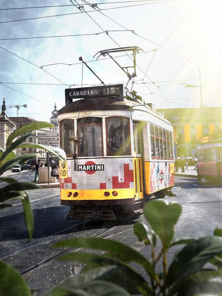Artflakes-sunshine-tram