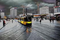 'Straßenbahn auf dem Alex' von Christian Behring