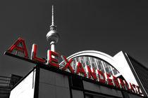 Alexanderplatz-Schild von Christian Behring