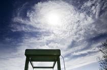 Spiralwolken über Klappbrücke II von Thomas Schaefer