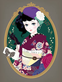 kimono girl von Mari Katogi