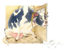 Kuh by Anna Eliza Lukasik-Fisch
