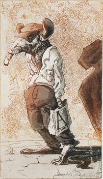 'Ratte von Nebenan-Chinahoroskop' von Anna Eliza Lukasik-Fisch