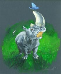 Rhino by Anna Eliza Lukasik-Fisch