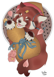 Red Panda  von bakka