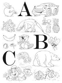 ABC-Tiere von Stefan Lohr