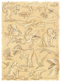 lustige Dinosaurier von Stefan Lohr
