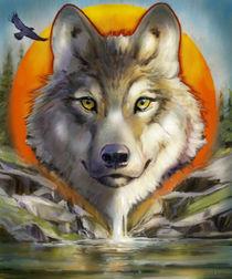 Wolf Spirit von Arie Vanderwyst