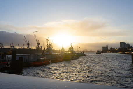 Artflakes-sunset-at-the-harbour