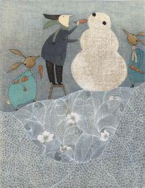 Wendelins Schneemann by Judith  Clay