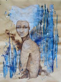 Beatrix Baroque #dream Aquarell, #Portrait  by #carographic, Carolyn Mielke von carographic