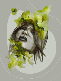 Eva Green by #carographic, Carolyn Mielke von carographic