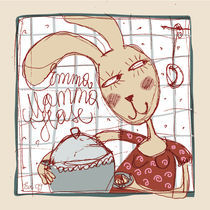 Emma Mama-Hase by Evi Gasser