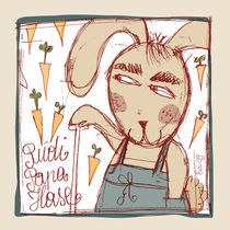 Rudi Papa-Hase by Evi Gasser