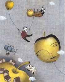 Herbstäpfel von Judith  Clay