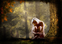 Nude in the woods by Andrew White