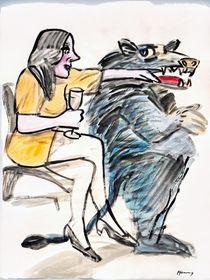Lieber Wolf, ich trinke gern Wein und bin besessen von Dir von Wolf-Dieter Pfennig