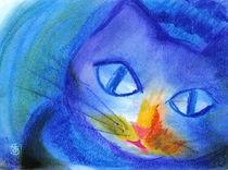 Nightwalk Cat by ateliertama