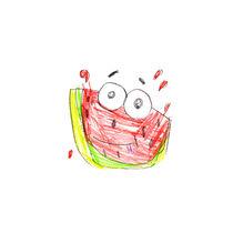 Watermelon von Tanya Kurushova