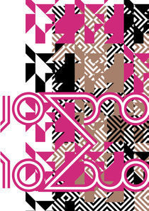 Pattern with some letters by Bence Csernak