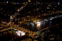 Paris from the Eiffel Tower by Ioana Epure