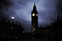 'Ghostly Big Ben' von Ioana Epure