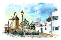 Palma De Mallorca Windmills 02 von Miki de Goodaboom