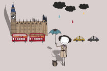 It does not always rain in London? by June Keser