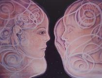 'Begegnung' von Annegret Hofmann