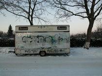 Verkaufswagen im Winter by Eric Pawlitzky